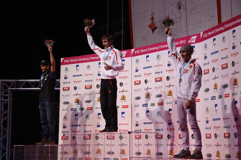 Boulder: Kilian Fischhuber (argento), Sean McColl (oro), Rustam Gelmanov (bronzo), Franz Schiassi