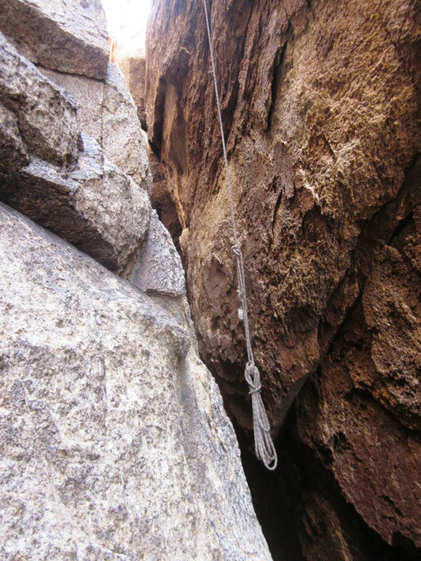 Joshua Tree wilderness climbing violations: abandoned gear, The Access Fund