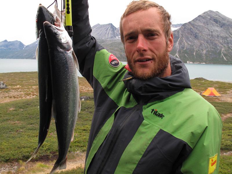 Groenlandia, Tasermiut Fjord: pranzo!, Brt, Linek, Smole