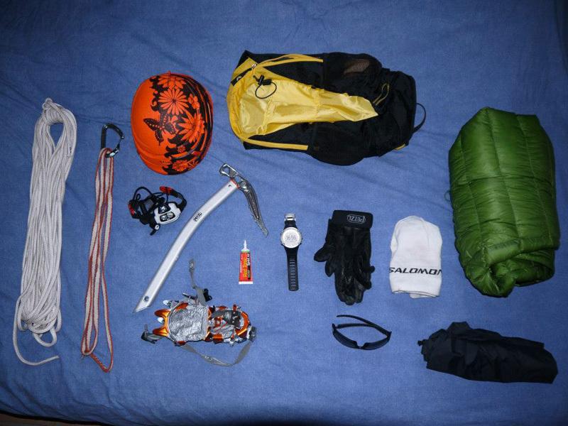 18/09/2012: Kilian Jornet Burgada sale la cresta Innominata e raggiunge la cima del Monte Bianco in 6h17', archivio Kilian Jornet Burgada