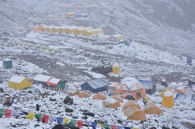 Manaslu Base Camp, Cesare Cesa Bianchi / Mountain Kingdom
