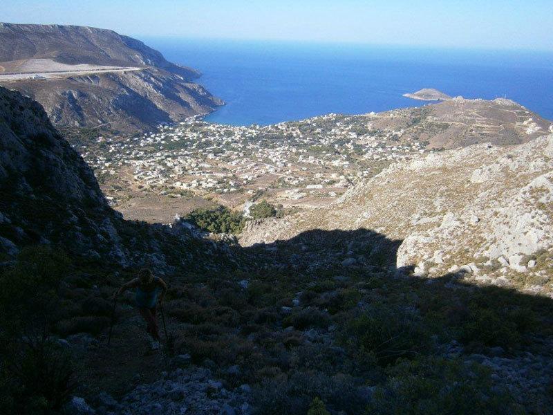 Il panorama su Kantouni, N. Costi, N. Noè