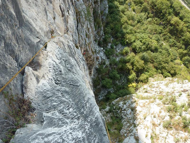 La galoppata sulle pareti del Lago di Ivo Ferrari, archivio I. Ferrari