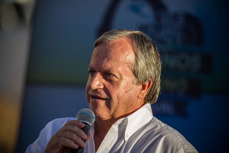 Dimitrios Diakomihalis, Mayor of Kalymnos, The North Face ® / Damiano Levati