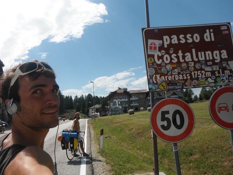 Verso il Catinaccio, Ernesto Benfari & Christian Sega