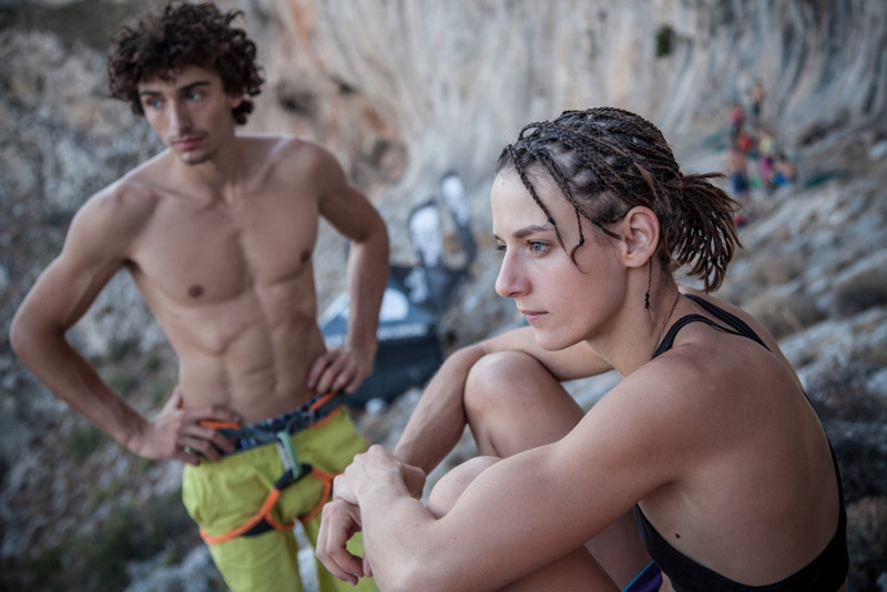 Jacopo Larcher & Melissa Le Neve, The North Face ® / Damiano Levati