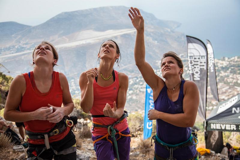 Barbara Zangerl, Melissa Le Neve, Anna Stöhr, The North Face ® / Damiano Levati