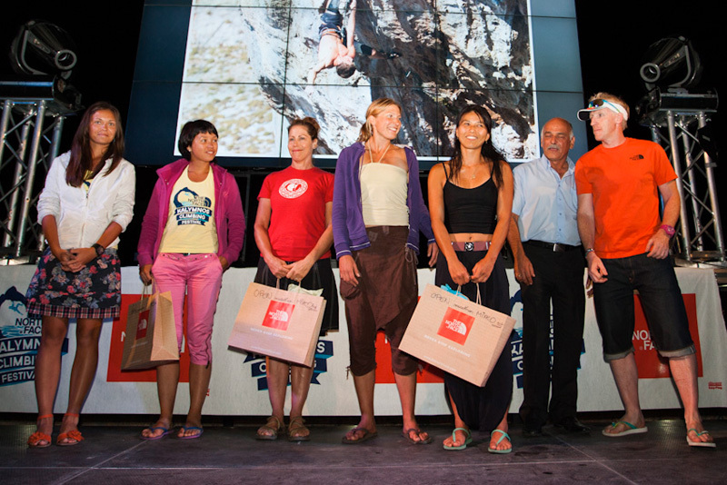 Premiazione Open Marathon, The North Face ® / Chris Boukoros