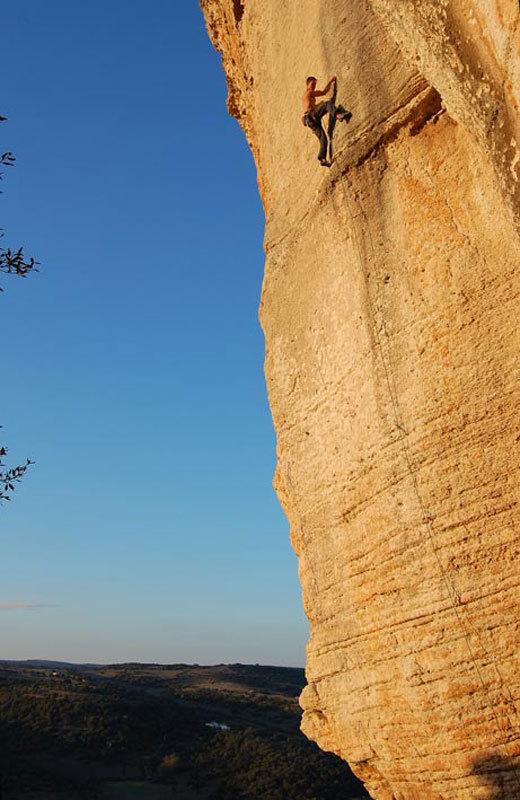 Climbing at Roccadoria Monteleone, Sardinia, Maurizio Oviglia