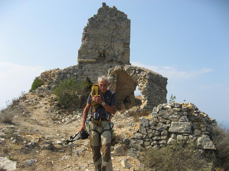 La torre in cima, Capo d'Uomo all'Argentario, Eraldo Meraldi