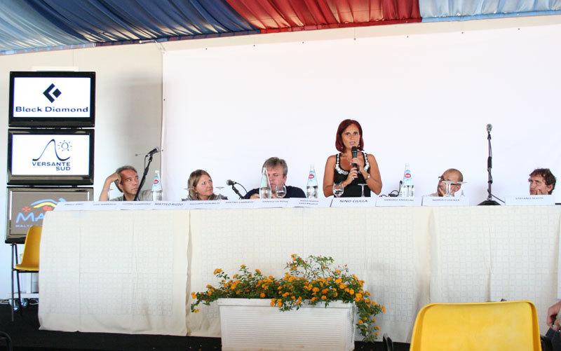 Il convegno turismo e arrampicata, SanVito Climbing Festival