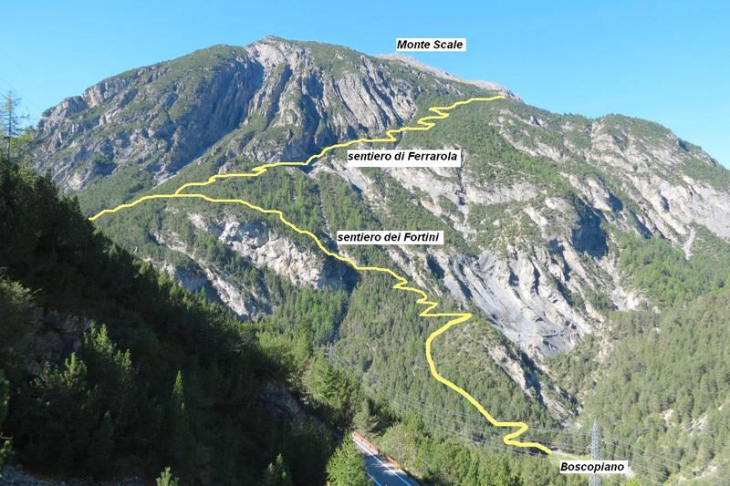 Il Sentiero dei Fortini al Monte Scale, Eraldo Meraldi
