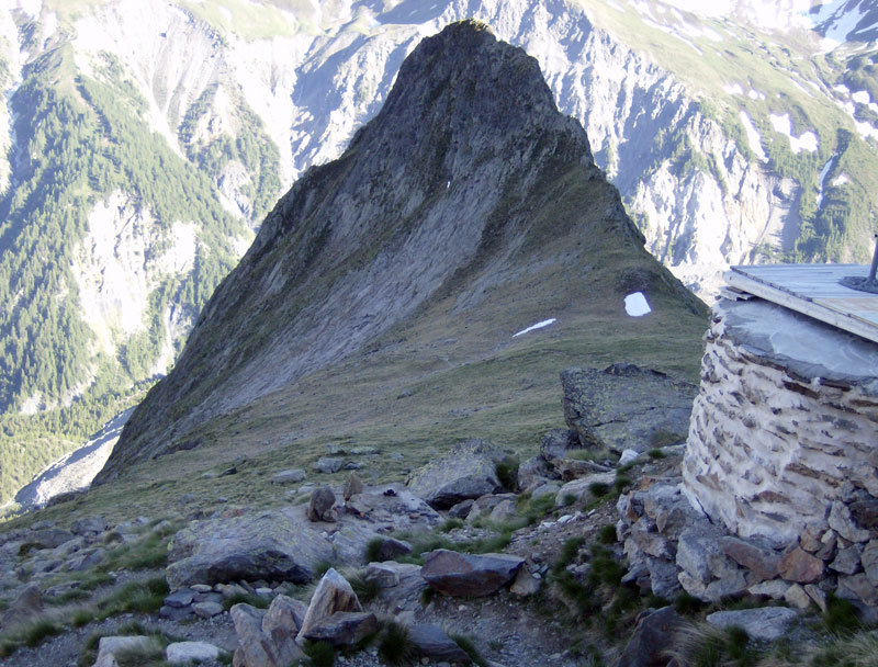 Cima Aiguille de Chatelet, Monte Bianco, archivio M. Franceschini, F. Recchia