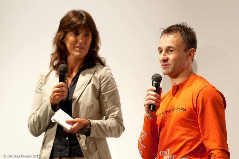 Melania Lunazzi e Federico Addari, presidente chiodo fisso e organizzatore Find Your Way: meeting internazionale di arrampicata in Friuli Venezia-Giulia, Andrea Fusari