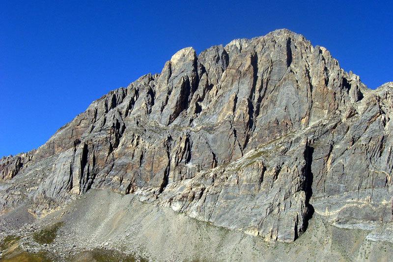Rocca la Meja - corpo centrale, archivio L. Belliardo