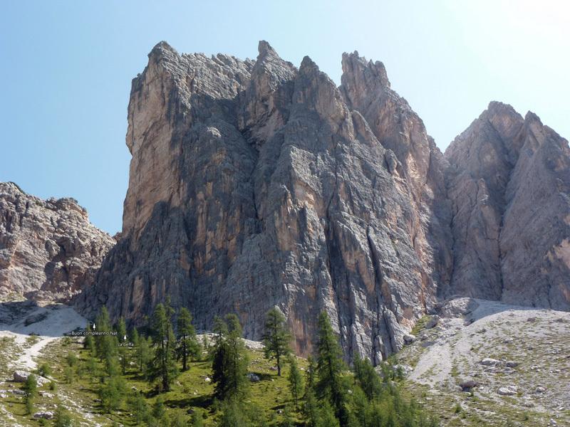 Cima Cason de Formin, Dolomites, archivio Massimo da Pozzo