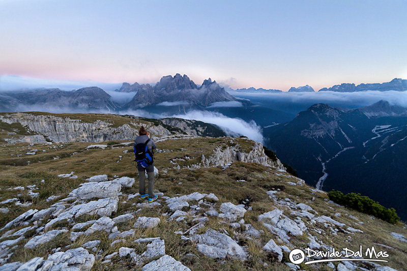 Monte Piana Highline Meeting, Dolomiti, Davide dal Mas