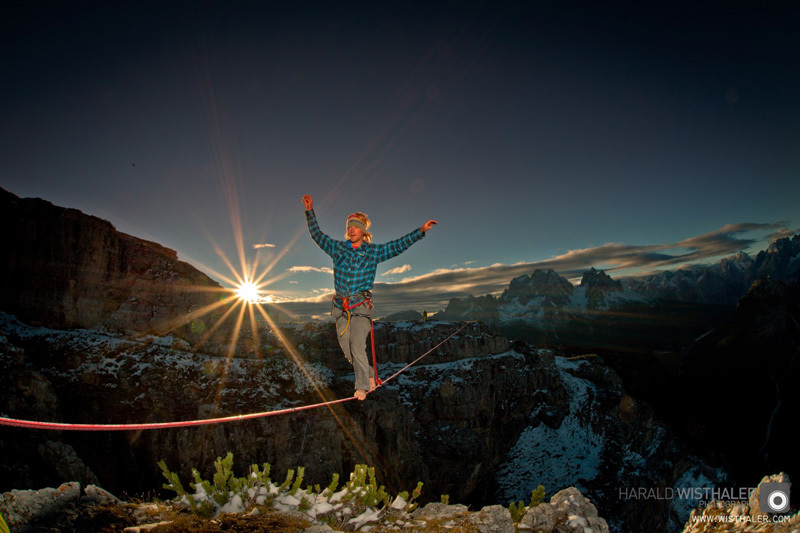 Monte Piana Highline Meeting, Dolomiti, Harald Wisthaler