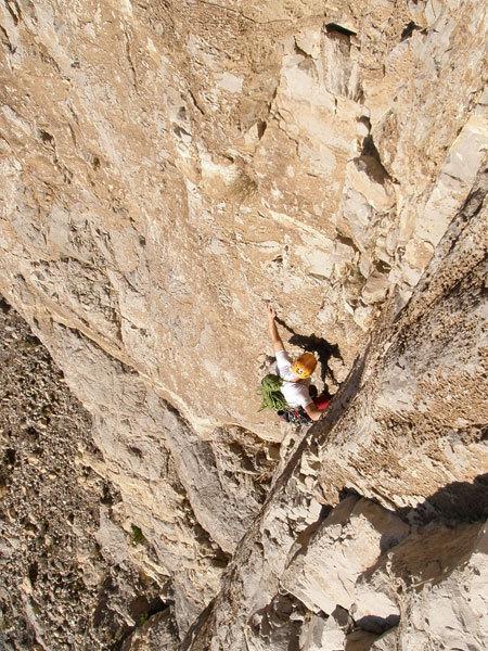 Yel-la sadik (VII-/VI), Jabal Misht, Oman , Pavle Kozjek