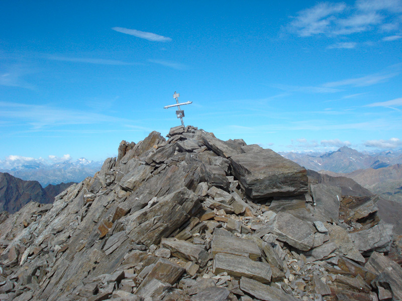 Summit cross, Eraldo Meraldi