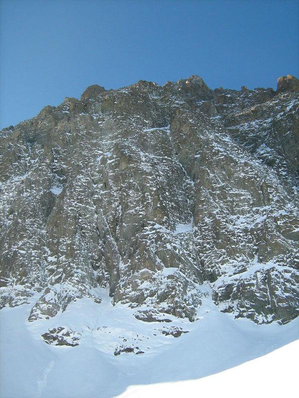 La parete di Cugnisiun zero', Monviso, Parete Nord, Settore Nord Est, archivio M. Appino, U. Bado