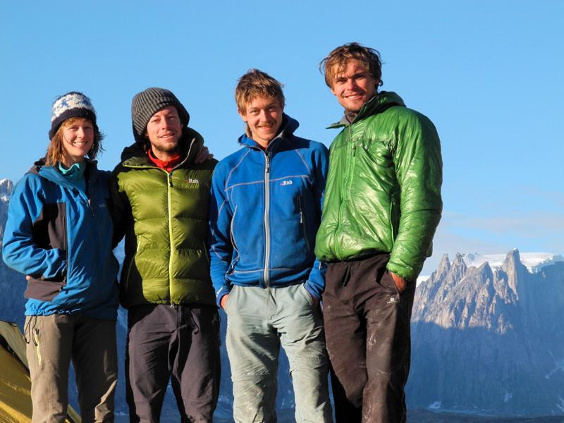 Vera Reist, Silvan Schüpbach, Basil Jacksch, Christian Ledergerber, Swiss Renland Expedition