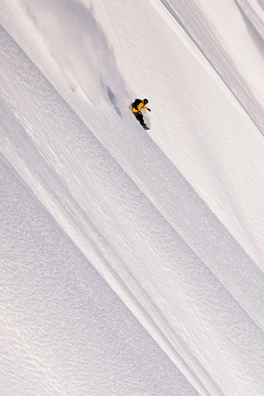 In 2012, for his latest film project, Further, snowboarder Jeremy Jones navigated winds capable of knocking a rider from his feet, lived for days on end in subzero temperatures, and negotiated some of the most challenging avalanche terrain on the planet., Jeff Hawe