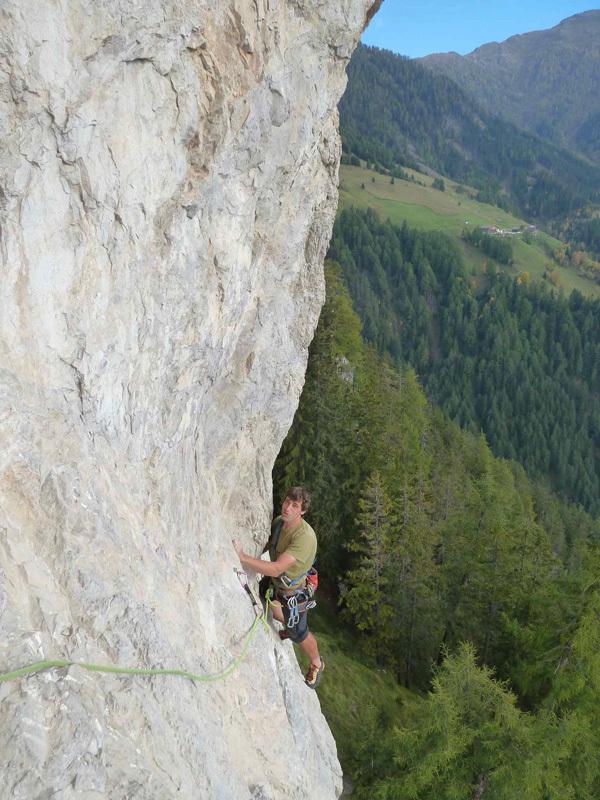 10/2012: Die Ritter der Kokosnuss (7b, 120m, Vittorio Messini, Isidor Poppeller),