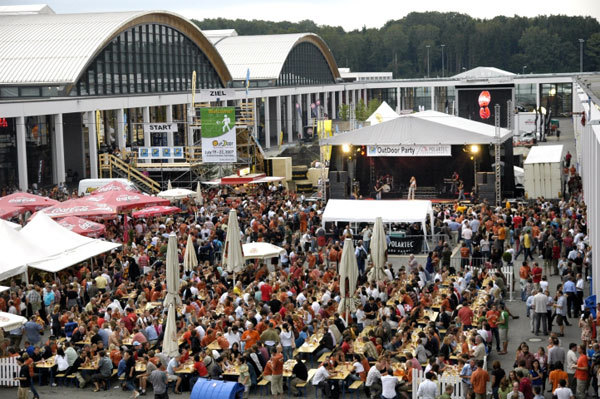 The classic evening party at Friedrichshafen., arch. OutDoor Friedrichshafen