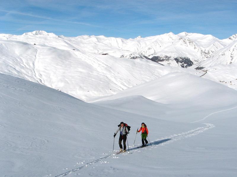 In salita verso il Monte Rocca sopra il Dosso Le Piazze, Eraldo Meraldi