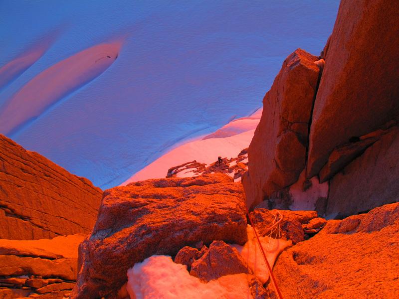 Un mar de suenos! (Jorge Ackermann, Michael Lerjen-Demjen, 1200m, 7a, A3, M4, 14-17/11/2012) , Lerjen-Demjen