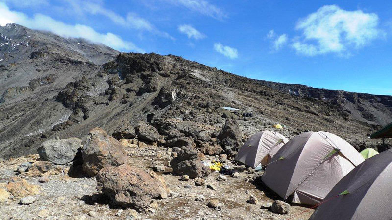 Barafu Camp 4630m, Nicola Noè