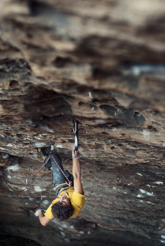 Jacopo Larcher climbing Fifty words for pump 8c+, Red River Gorge, USA, François Lebeau