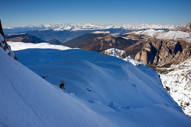 Val Culea, Sella, Dolomites, Francesco Tremolada
