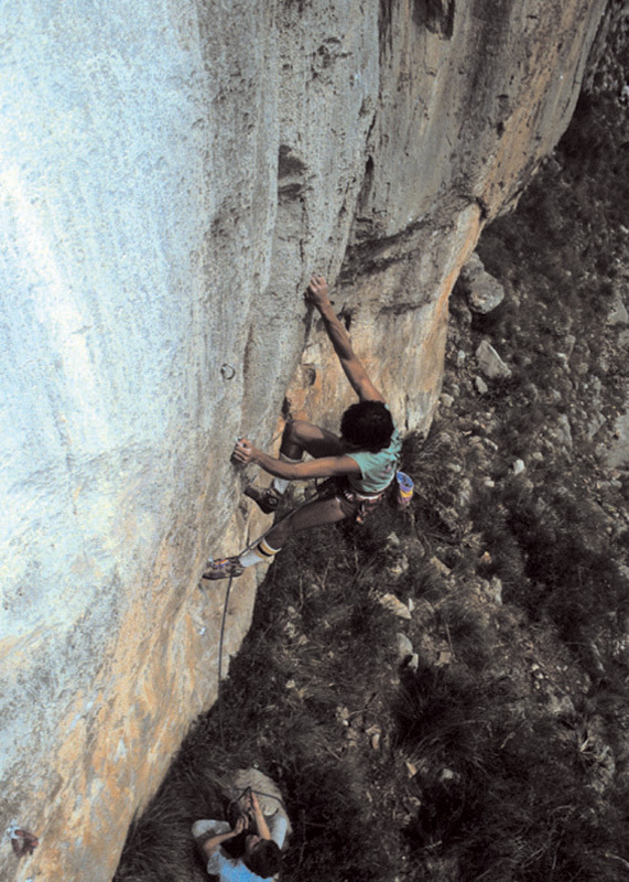 Climbing in the '80's: Andrea Di Bari on Babi Snake, Bruno Vitale