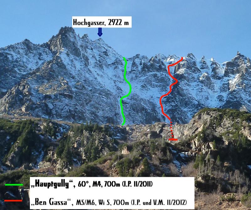 Hochgasser (2922m), Tirol, Austria, archivio Vittorio Messini