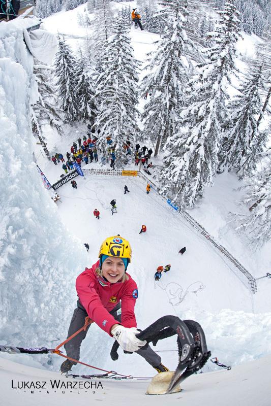 Coppa del Mondo di arrampicata su ghiaccio: Angelika Rainer, Lukasz Warzecha