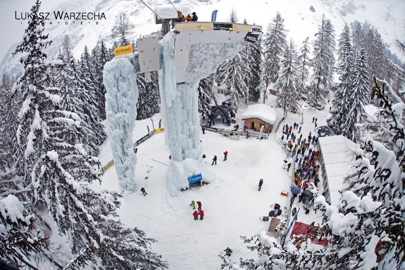 Ice Climbing World Cup 2012, Lukasz Warzecha