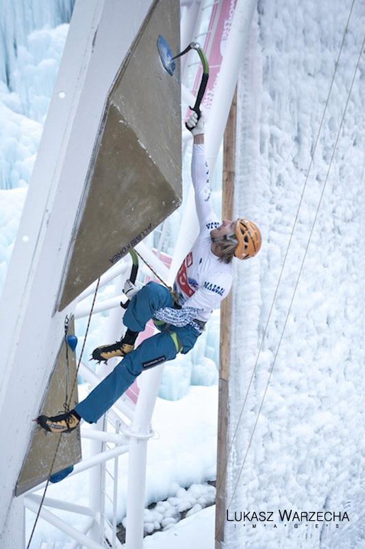 Coppa del Mondo di arrampicata su ghiaccio: Markus Bendler, Lukasz Warzecha