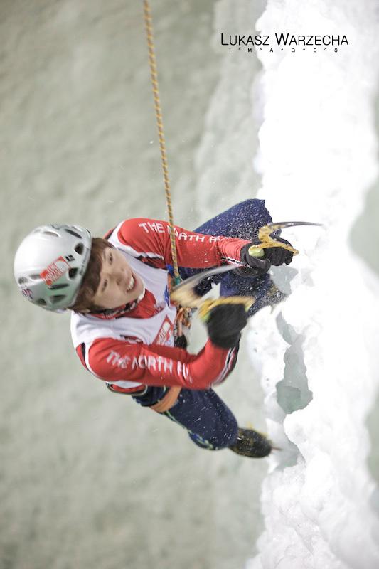 Coppa del Mondo di arrampicata su ghiaccio: Park Hee Yong, Lukasz Warzecha