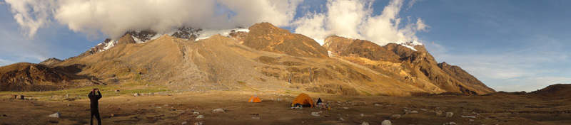 Illimani. Base Camp., David Orlandi