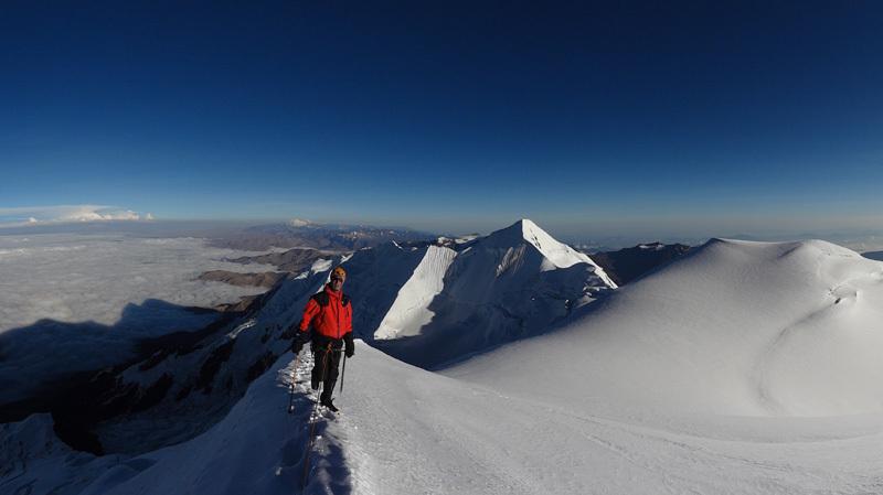 Illimani (6462m), Bolivia, David Orlandi