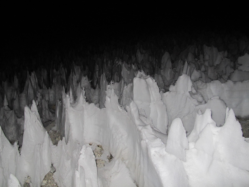 Acotango. Penitentes camp., David Orlandi