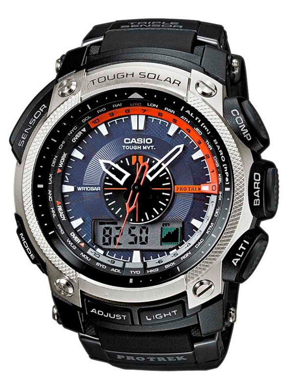Casio Pro Trek Adventure: PRW-5000-1ER, Casio