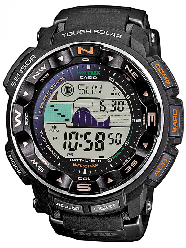 Casio Pro Trek Adventure: PRW-2500-1ER, Casio