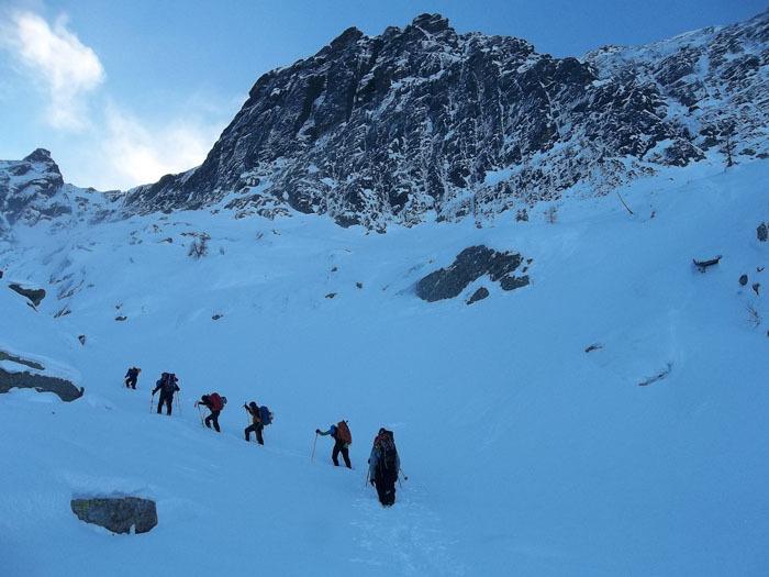 08-09/12/2012: nuove vie sulla parete nord dello Spallone Pizzo del Becco, Tito Arosio