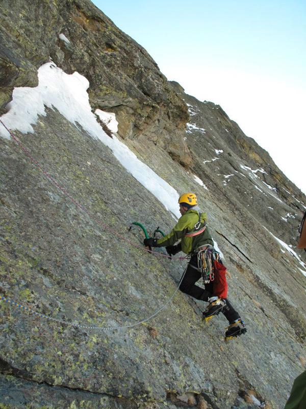 Cascate da ghiaccio in Valle Varaita, Alberto Fantone