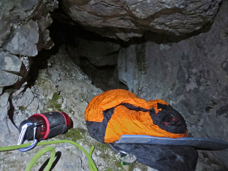 Prima salita invernale e insieme prima solitaria invernale della via Siddharta al Pizzo d'Eghen (Grigne)., Saro Costa