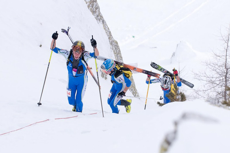 The first stage of the Ski Mountaineering World Cup which took place in Italy's Valle Aurina on 12-13/01/2013, Riccardo Selvatico / ISMF