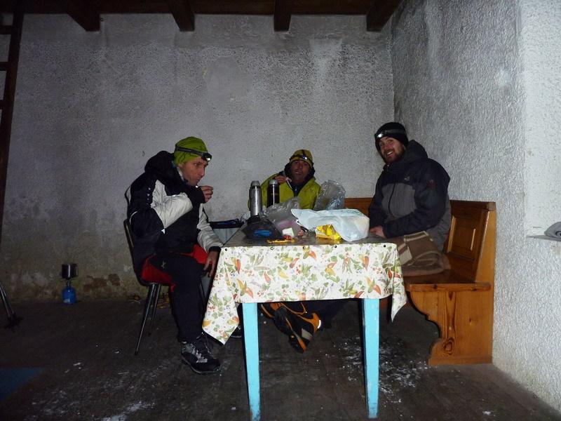 Dinner (Beppe Ballico, Andrea Gamberini & Marco Milanese), archivio Beppe Ballico